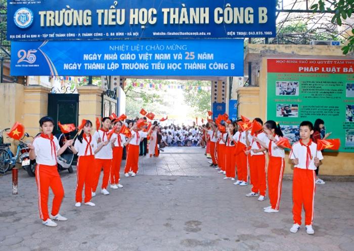 Gợi ý phụ huynh chọn trường tiểu học công lập tốt ở Hà Nội