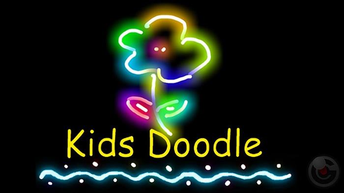 Luyện tập khả năng sáng tạo cho bé với Kids Doodle