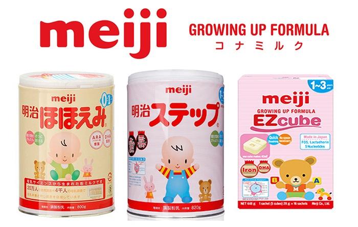 Sữa Meiji Nhật Bản