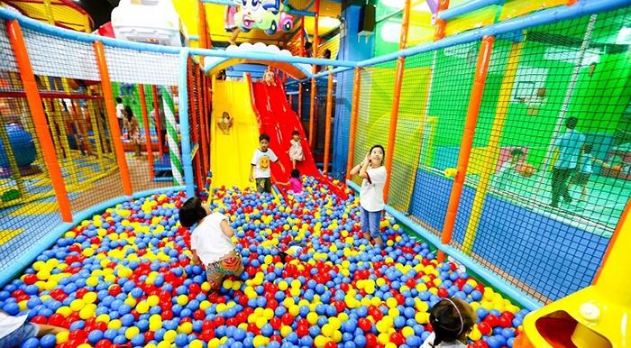 Khu vui chơi trẻ em ở Đà Nẵng vào cuối tuần