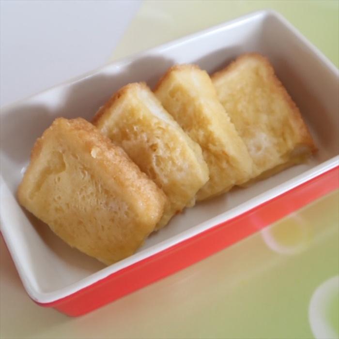 bánh mì nướng kiểu Pháp cho bé