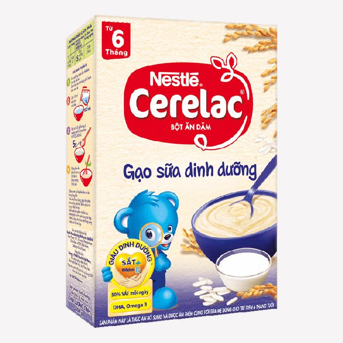 Nestle cho bé 6 tháng