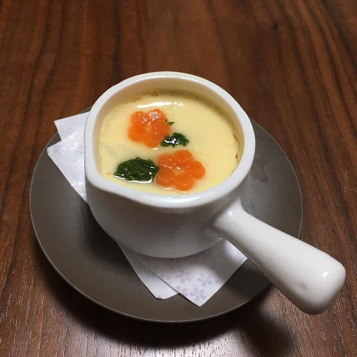 súp trứng sữa cho bé