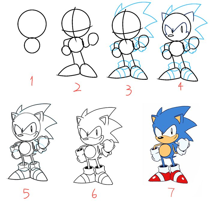 Hướng dẫn vẽ nhân vật hoạt hình cực kỳ đáng yêu - hình ảnh 10