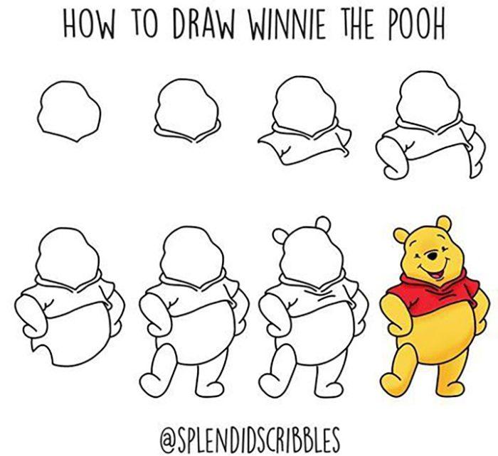 Hướng dẫn vẽ nhân vật hoạt hình cực kỳ đáng yêu - hình ảnh 9