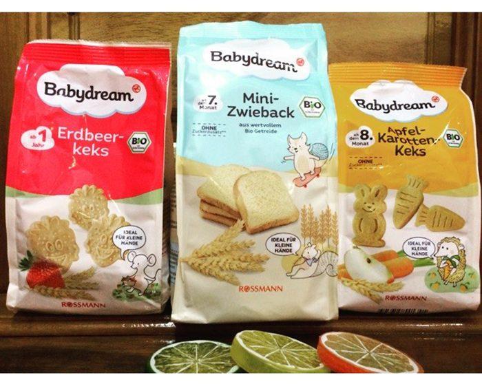 Babydream - Bánh ngon cho bé mới tập ăn