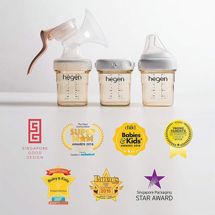 Nên mua bình sữa Hegen cho bé không?