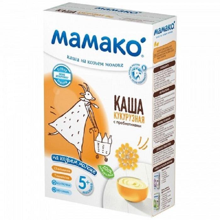 Bột ăn dặm Nga Mamako cho bé