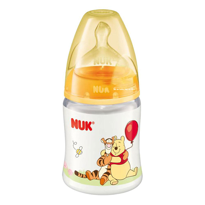 Thiết kế đặc biệt của bình sữa Nuk
