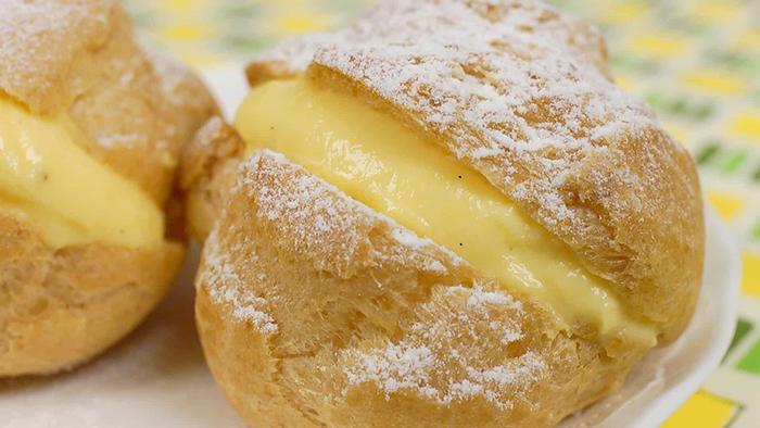 Bánh su kem là loại bánh dễ làm tại nhà