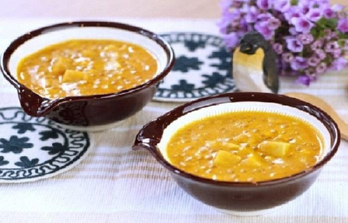 Cách nấu súp bò bí đỏ
