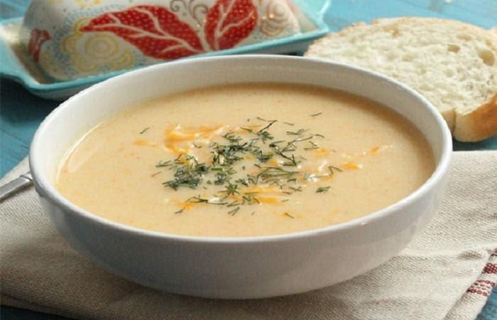 Cách nấu súp bò khoai tây cà rốt