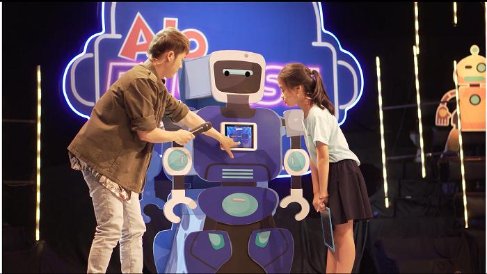 Hey Mr Robot – Phần thi được các bạn nhỏ vô cùng yêu thích