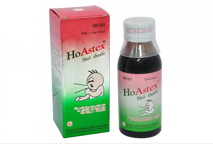 Siro ho HoAstex cho trẻ sơ sinh