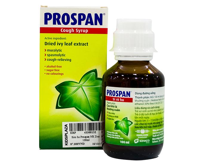 Thuốc siro trị ho Prospan