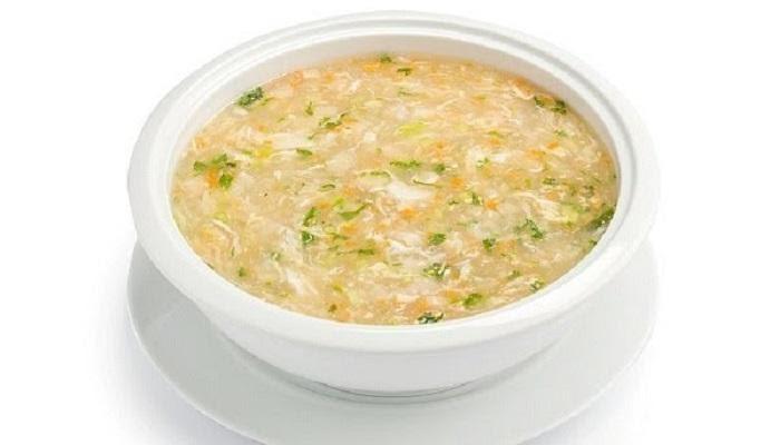 Món súp cua bắp cho bé