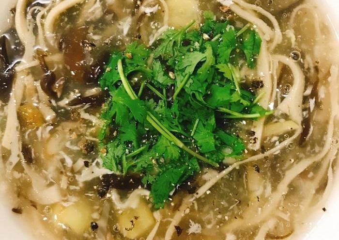 cách nấu súp lươn với nấm