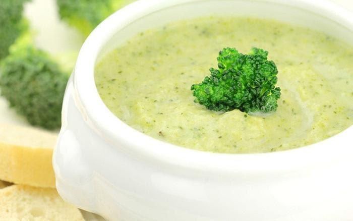 cách nấu súp tôm khoai tây bông cải xanh