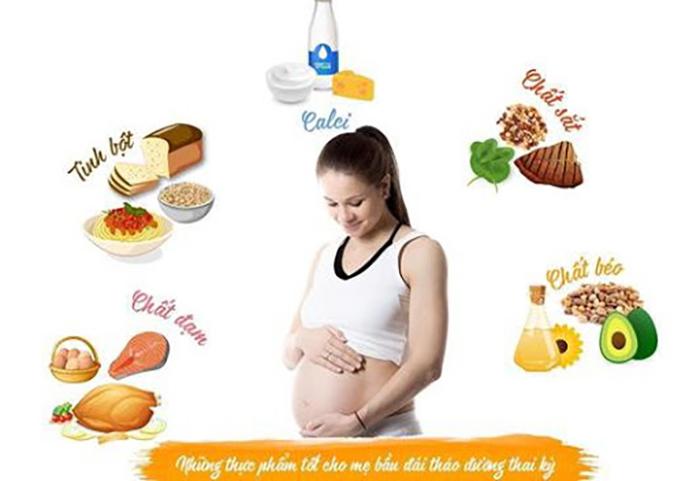 dinh dưỡng cho bà bầu bị tiểu đường thai kỳ