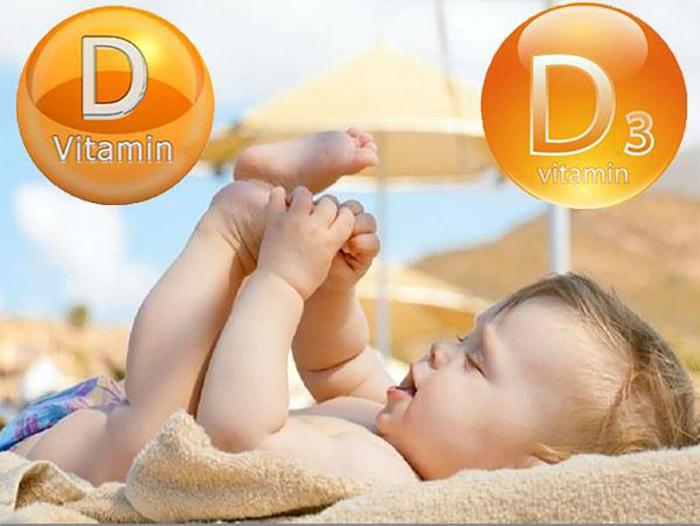 lý do nên bổ sung vitamin D3 cho bé