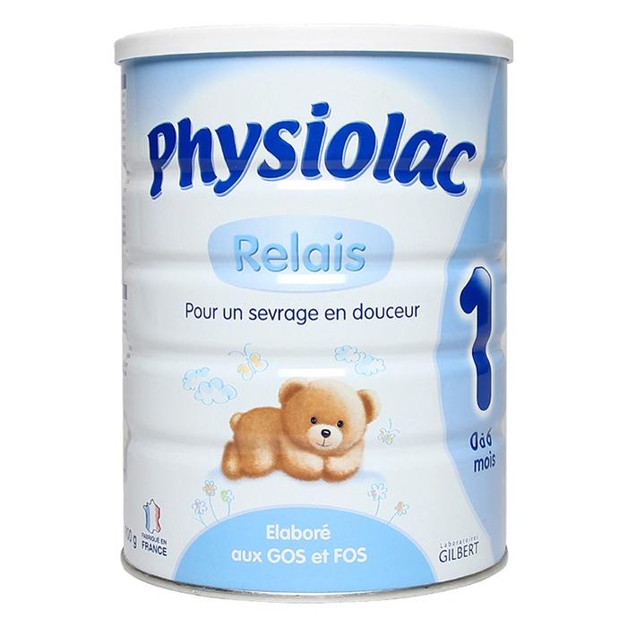 sữa physiolac relais 1 cho bé phát triển hệ tiêu hóa khỏe mạnh