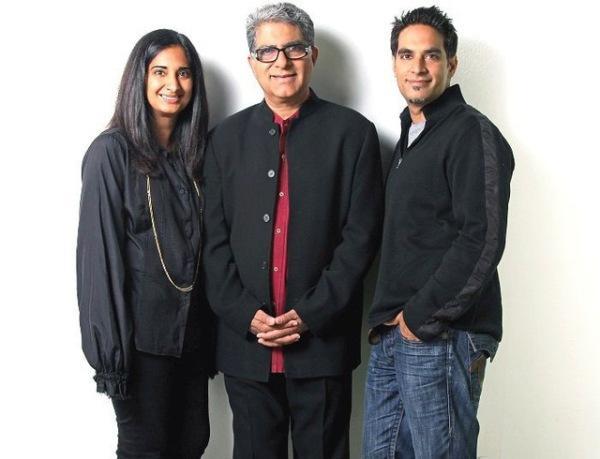 Deepak Chopra và các con
